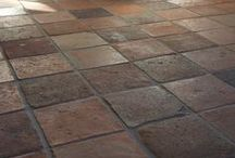 Antique Terracotta / Reclaimed terracotta tiles are beautiful, let's see a few samples of antique and aged tiles around the world ...