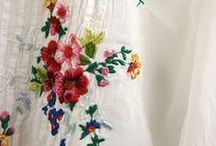Broderie - Embroidery / Some stitches that inspire me !