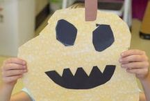 A Place Called October / October activities and art projects for Kindergarten