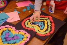 A Place Called February / February activities and art projects for Kindergarten that includes lots of Valentines and Presidents' Day ideas