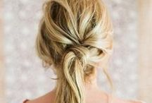 Hairstyle Inspiration / Ideas for what to do with my long hair when it's not in a pony tail.  #hairstyles  #longhairstyles   / by making it in the mountains