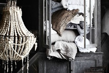 My Home look... / Shabby Chic, meets french country, antique, white washed, distressed, and all cleary used and reused to make better...the best! / by Heather Biehn