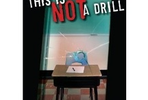 THIS IS NOT A DRILL-(Penguin) / #YA - young adult thriller in which two teens must protect the 1st graders they tutor when a soldier with #PTSD takes them hostage after being denied access to his son. / by Beck McDowell