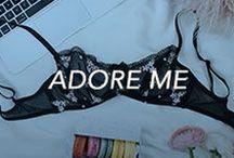 Adore Me / Inspiring you to look and feel your best underneath it all: This board is all about Adore Me's latest lingerie looks.