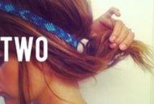 Hair make-up nails <3
