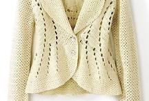 Crochet ~ Jackets & Cardigans / by Nina Riggs #1