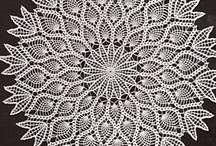 Crochet ~ Doilies & Tableclothes / by Nina Riggs #1