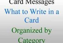 CARDS - Info to know