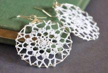 Crochet ~ Jewlery ~ Earrings / by Nina Riggs #1