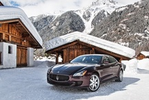 Maserati Quattroporte S Q4 - Mont Blanc photoshoot / The 2013 Geneva International Motor Show sees the European premiere of the all-new Maserati Quattroporte S Q4 with all-wheel drive system. 