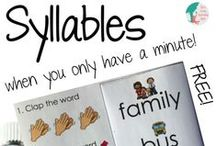 word work syllables