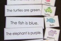 word work color words