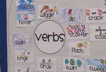 word work nouns and verbs