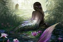 Fantasy - Mermaids & Selkies / by Pauline Coombes