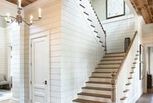 Stairway Inspiration / Ideas and inspiration for our stairways.  #stairs  #homedecor  #interiordesign  #decorideas / by Making it in the Mountains