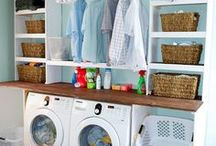 Laundry Room Inspiration / Ideas and inspiration for our Laundry Room.  #laundryroom  #homedecor  #interiordesign / by making it in the mountains
