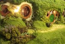 01. Miniature Fantasy and Dioramas  / Wonderful worlds created in miniature, whole scenes and fantasy adventures.  / by Pauline Coombes