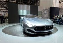 The Alfieri concept sports car from Maserati debuts at 2014 SIAG / An homage to Maserati's sports heritage. The future of Maserati design. The Alfieri concept sports car from Maserati is here. #MaseratiAlfieri #SIAG