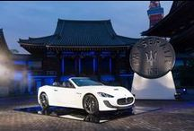 Maserati Centennial celebrated in Japan / he striking setting of ancient Japanese venues, symbols of the Land of the Rising Sun, has been chosen by Maserati Japan マセラティ ジャパン for the #Maserati100 celebration.