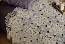 Crochet ~ Bedspreads ~ Lace / Lace lightweight bed covers / by Nina Riggs #1