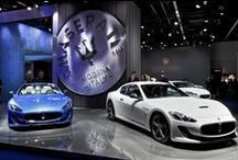 Maserati at the Frankfurt Motor Show 2015 / The Maserati complete updated product range. The exclusive interior packages by Ermenegildo Zegna featured on ‪#‎MaseratiGhibli‬ and ‪#‎Quattroporte‬. Take a tour of our stand.