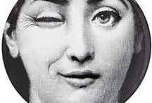 Fornasetti / He's such a great artist !! <3