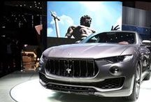 Maserati at the Geneva International Motor Show 2016 / Inspired by our sports car heritage, the Maserati Levante is a beautiful creation that embodies what we stand for today. We are proud to introduce the first SUV in Maserati's extraordinary history.