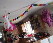 Unicorn and Plasticine birthday party / All pins related to unicorn birthday party ideas