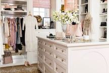 Dressing Rooms and Closets / Is your dressing room or closet a disorganised mess? Check out my pins for gorgeous inspiration and ideas for making the most of the space you have for beautiful organised glam style.