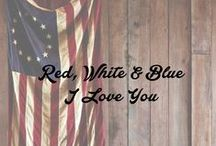 Red, White & Blue / by This Old Thing Designs
