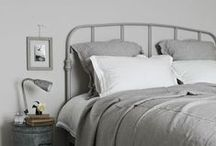 Inspiration- Bedroom / Rest your head and dream the night away with these Stylish, modern, bright and sophisticated bedroom ideas.