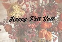 Happy Fall Y'all! / by This Old Thing Designs
