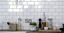 Inspiration- Kitchens / We spend so much time in this space so why not make it a useable place you enjoy being in.