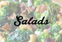 Salads / by This Old Thing Designs