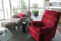 Reupholstering  / Reupholstering chairs and sofas gives a new lease of life and a fabulous new look to any piece. Reupholstering jobs we have done for our clients.
