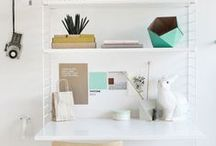 Inspiration- Office spaces / Fabulous spaces, stylish ideas for office and workspaces.