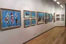 Patrick Gibbs / Everyday lives, exotic Lands presented by The Minster Gallery at the Mall Galleries