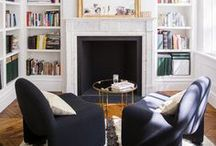 Shelves & Libraries / A whole host of inspiring images of perfectly styled shelves - from wall shelves to bookcases to whole libraries, you'll find a wealth of ways to make sure you books and vignettes of decorative objects are shown off with pride!