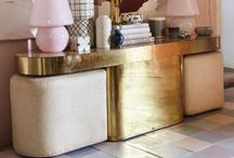 Sideboards and Consoles / Struggling with ideas of how to style your console table? You'll find plenty of inspiration here with creative consoles and stylish sideboards, bursting with original styling ideas. Expect lots of colour, bold statement art and glamorous vignettes.