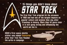 Star Trek infographics / Infographics, data, technology, facts about Star Trek, all generations / by Jean-Marie David