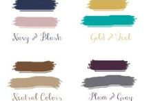 color palette love / beautiful color palettes for weddings! lovely inspiration.