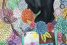 Madeline Butler Art / Paintings, sketches, and other artwork created by Madeline Butler