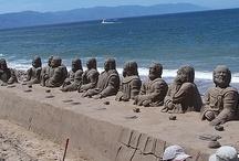 Sand Sculptures / by Toni Blankenship