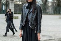 Fashion / Yes, I DO have a thing for black & white !
