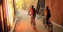 Bicycle Touring + Single Track MTB + Rail Trails = Car-Free Cycling! / ►► Max 2 pins/day TO board. Unlimited FROM board. DO NOT PIN DUPLICATES (check board before & after pinning) ◄◄ Car-free (mostly) cycling ► Cycle Touring through quiet back roads ► Mountain Biking ► Urban Bike Paths & Cycle Lanes ► Single Track ► Rail Trails | Routes & trails rather than the latest bikes & accessories