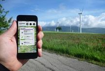Wind Turbines in Wind Farms = Renewable Energy / | JOIN http://pinterest.com/pin/146578162844255725/ Do NOT add others to board else you'll be removed as a spammer