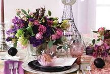 Tablescapes / Pretty ways to set your table for an event, dinner party, or just because...