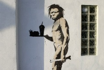 """Art - From the Street / """"Think outside the box, collapse the box, and take a fucking sharp knife to it"""" Banksy"""