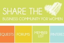 Share the Love / Share the Love is an online business community for women entrepreneurs.  Join us at http://goo.gl/dxrGji / by Bloom Online