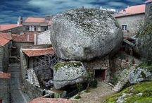 Monoliths + Mega-Rocks + Mountains {GROUP} / http://en.wikipedia.org/wiki/Monolith